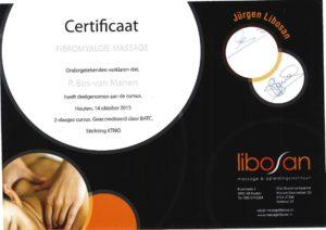Certificaat fibromyalgie massage