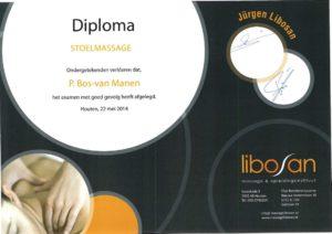 Diploma stoelmassage